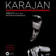 Karajan's Sibelius recordings with the Berlin Philharmonic (recently reissued by Warner Classics)