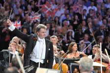 Edward Gardner at the Last Night of the Proms (photo by Chris Christodoulou)