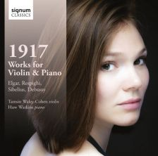 SIGCD376. 1917: Works for Violin and Piano