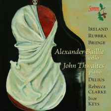 SOMMCD251-2. 20th Century Cello Sonatas. Alexander Bailie/John Thwaites