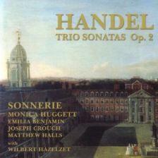 Handel Trio Sonatas Op 2