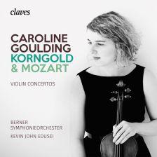 50 1808. KORNGOLD; MOZART Violin Concertos (Caroline Goulding)