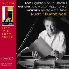 Bach English Suites, Buchbinder