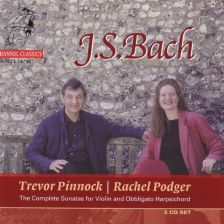 Bach The Complete Sonatas for Violin, Pinnock