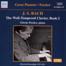 Bach Well Tempered Clavier Fischer