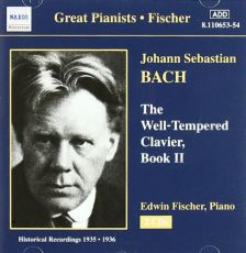 Bach Well Tempered Clavier, Fischer Book 2