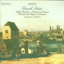 JS BACH French Suites, Hewitt