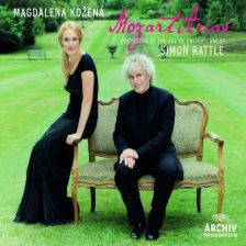 Mozart Operatic Arias, Rattle