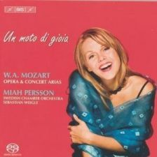 Mozart Opera and Concert Arias, Persson