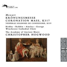 Mozart Sacred Choral Works, Christopher Hogwood