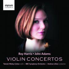 SIGCD468. ADAMS; HARRIS Violin Concertos