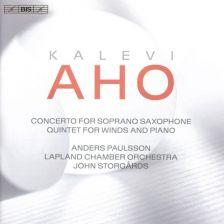 BIS2216. AHO Concerto for Soprano Saxophone. Quintet