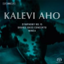BIS 1866. AHO Concerto for Double Bass and Orchestra. Symphony No 15