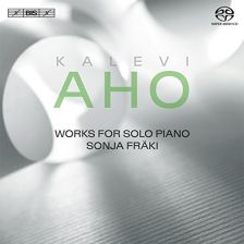 BIS2106. AHO Works for Solo Piano