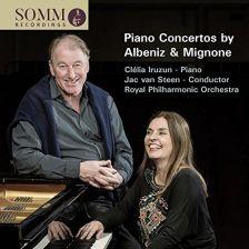 SOMMCD265. MIGNONE; ALBENIZ Piano Concertos