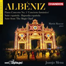 CHAN10897. ALBÉNIZ Piano Concerto No 1. Suite española