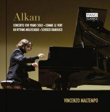 PCL0061. ALKAN Concerto for Solo Piano. Comme le vent