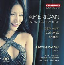CHSA5128. Xiayin Wang: American Piano Concertos