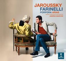 934133-2. PORPORA Arias for Farinelli. Philippe Jaroussky