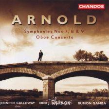 Arnold Symphonies Nos. 7, 8 & 9. Oboe Concerto
