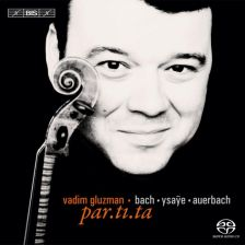JS BACH Partitas for solo violin Nos 2 & 3 AUERBACH par.ti.ta