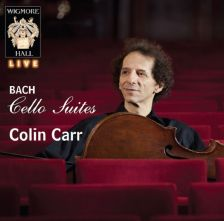 WHLIVE0060/2. JS BACH Cello Suites BWV 1007-1012. Colin Carr