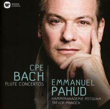 2564 62767-9. CPE BACH Flute Concerti