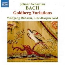 8 573921. JS BACH Goldberg Variations (Rübsam)