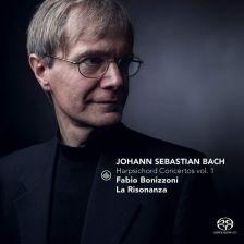 CC72773. JS BACH Keyboard Concertos Nos 1,2,4 & 5 (Bonizzoni)