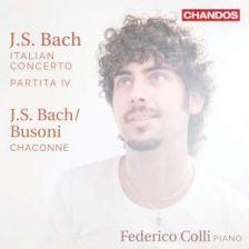 CHAN20079. JS BACH Italian Concerto (Federico Colli)