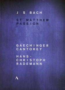 ACC20408. JS BACH St Matthew Passion (Rademann)