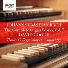 SIGCD807. JS BACH The Complete Organ Works, Vol 7