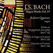 COR16157. JS BACH Organ Works Vol 4