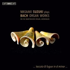 BIS2111. JS BACH Organ Works