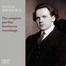 APR6027. Wilhelm Backhaus: The complete pre-War Beethoven recordings