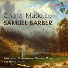 SOMMCD0152. BARBER Choral Music
