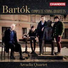CHAN10992(2). BARTÓK Complete String Quartets (Arcadia Quartet)