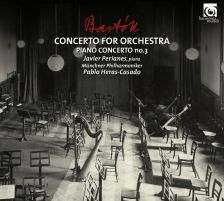 HMM90 2262. BARTÓK Piano Concerto No 3. Concerto for Orchestra