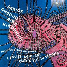 95223. BARTÓK Divertimento GHEDINI Violin Concerto