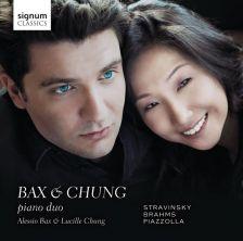 SIGCD365. STRAVINSKY Petrushka BRAHMS 16 Waltzes PIAZZOLLA 4 Tangos. Bax & Chung