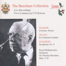 SOMMB29. Beecham conducts Delius, Schubert and Wagner