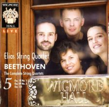 WHLIVE0092/2. BEETHOVEN The complete string quartets, Vol 5