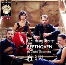 WHLIVE0093/2. BEETHOVEN The complete string quartets, Vol 6