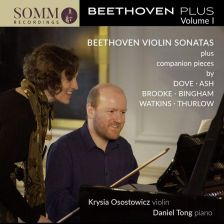 SOMMCD0181-2. BEETHOVEN Violin Sonatas (Osostowicz & Tong)