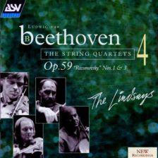 Beethoven: The String Quartets Vol. 4