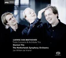 CC72579. BEETHOVEN Triple Concerto. Archduke Trio. Storioni Piano Trio
