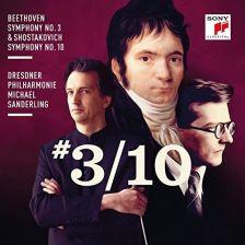 88985 40884-2. BEETHOVEN Symphony No 3 SHOSTAKOVICH Symphony No 10