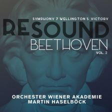 ALPHA473. BEETHOVEN Symphony No 7. Wellington's Victory