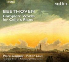 AUDITE23 440. BEETHOVEN Complete Works for Cello & Piano (Coppey & Laul )