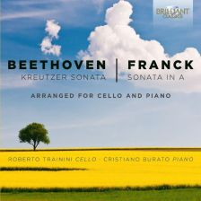 95191BR. BEETHOVEN; FRANCK Violin Sonatas transcribed for Cello